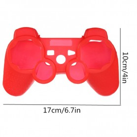 NedRo - Silicone Skin Case for PS2 PS3 Controller - PlayStation 3 - TM267-CB www.NedRo.us