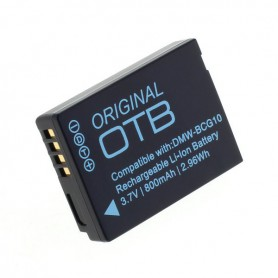 OTB - Battery for Panasonic DMW-BCG10E Li-Ion 800mAh ON040 - Panasonic photo-video batteries - ON040 www.NedRo.us