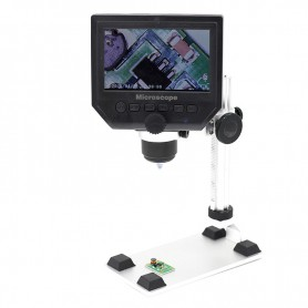 Datyson Optics - 1-600X 3.6MP 4.3 inch HD OLED LCD Digital Microscope - Magnifiers microscopes - AL480 www.NedRo.us