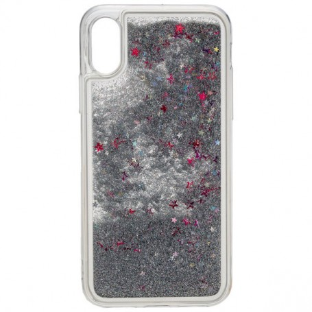 0ab6a70aeaad1 Urban style back cover GLAMOR for Apple IPHONE X - Silver for iPhon...