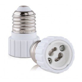 NedRo, Convertor E27 la GU10 (2 bucati), Corpuri de iluminat, AL792-CB, EtronixCenter.com