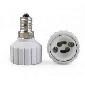 NedRo - E14 naar GU10 Fitting Omvormer - Lamp Fittings - AL492 www.NedRo.nl
