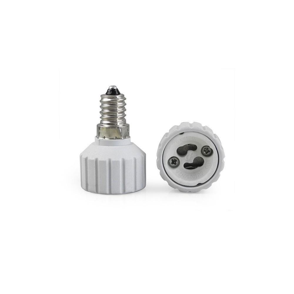 NedRo - E14 naar GU10 Fitting Omvormer - Lamp Fittings - AL492 www.NedRo.nl