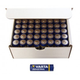 Varta, 40-Pack Varta Industrial LR03 AAA 4003 alkalisch BL023, AAA formaat, BL023, EtronixCenter.com