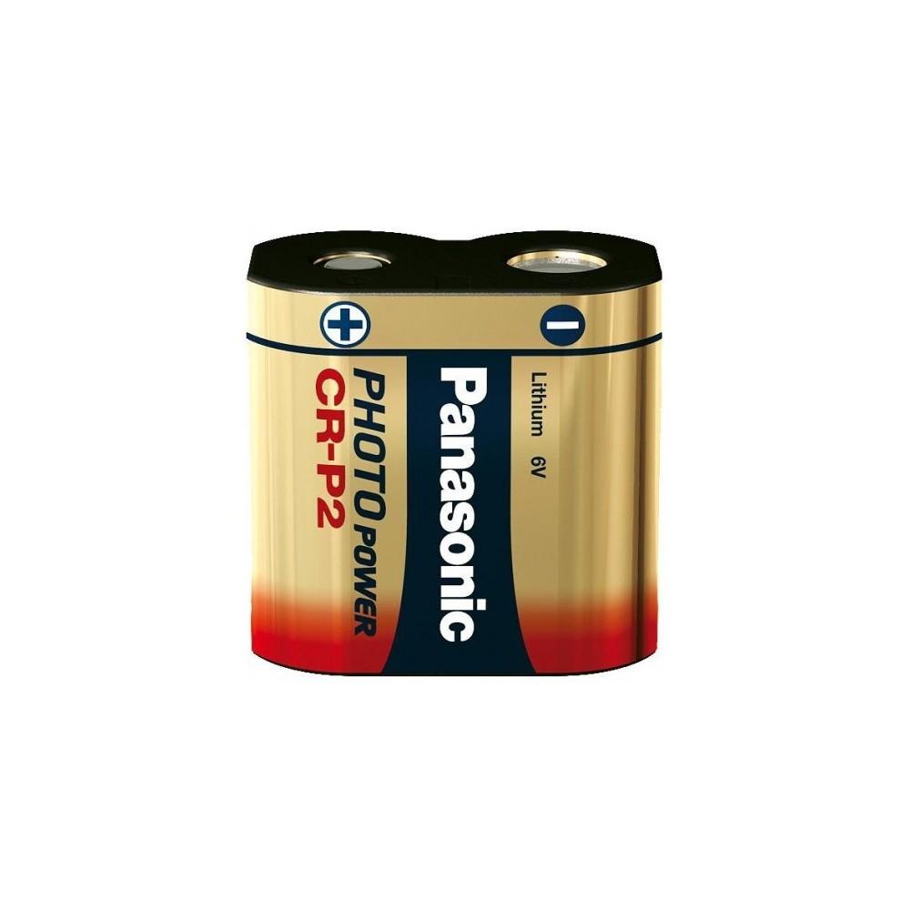 Panasonic - Panasonic LITHIUM Power CRP2 CR-P2 batterij blister NK087 - Andere formaten - NK087-1x www.NedRo.nl