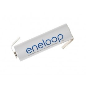 Panasonic - Panasonic Eneloop AA HR6 R6 battery with Z-tags - Size AA - NK003-1x www.NedRo.us