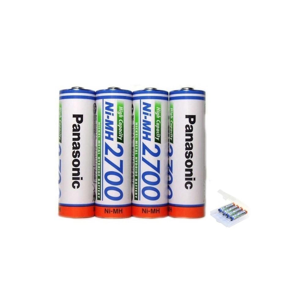 Panasonic - AA 2700mAh baterii reincarcabile capacitate inalta - Format AA - NK130 www.NedRo.ro