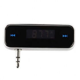 NedRo, Auto MP3-speler 3.5mm draadloze FM-zender, Wireless, AL849, EtronixCenter.com