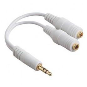 iPhone 3.5mm Hoofdtelefoon Splitter Kabel YAI328
