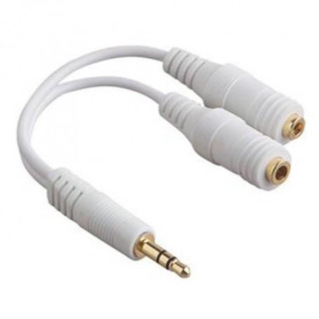NedRo - iPhone 3.5mm Hoofdtelefoon Splitter Kabel YAI328 - Audio adapters - YAI328 www.NedRo.nl