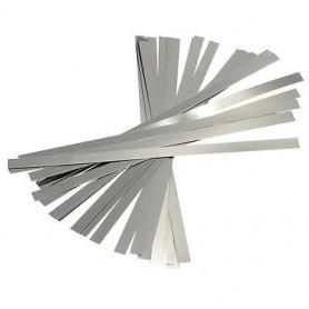 NedRo - Nickel Plated Steel Battery Strap Strip - Other - AL404 www.NedRo.us