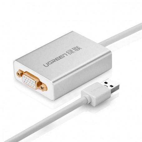 UGREEN, USB 2.0 to VGA Multi-Display Adapter High Premium UG157, DVI si DisplayPort adaptoare, UG157, EtronixCenter.com