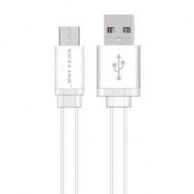 NedRo - Ultra Flat USB to MicroUSB Cable - USB to Micro USB cables - AL706-CB www.NedRo.us