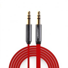 3.5mm Male-Male Audio Jack Ultra Plat kabel