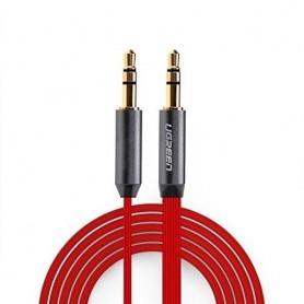 UGREEN - 3.5mm Male-Male Audio Jack Ultra Plat kabel - Audio kabels - UG256 www.NedRo.nl