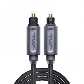 UGREEN - UGREEN Toslink Optical Audio Professional Cable Grey - Audio kabels - UG308 www.NedRo.nl