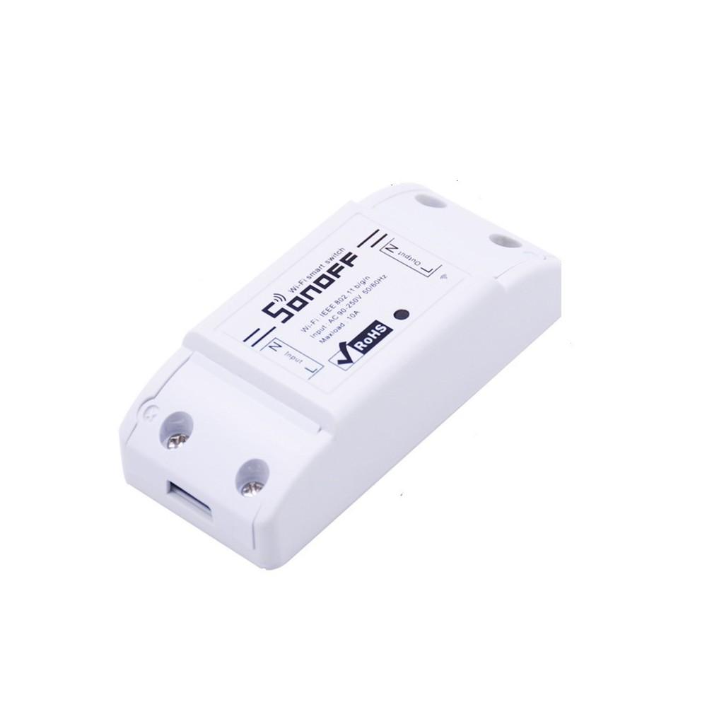 8d23dd0542c SONOFF - WiFi Smart Home 10A   2200W Smart Switch Unit - Wireless - AL682-.  Loading zoom