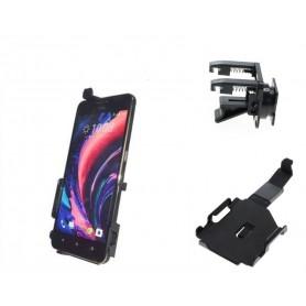Haicom, Auto Ventilator Haicom klem houder voor HTC Desire 10 Lifestyle HI-490, Auto ventilator telefoonhouder, ON4529-SET, E...