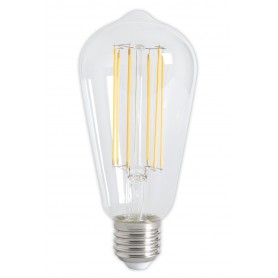 Calex - Vintage LED Lamp 240V 4W 350lm E27 ST64 Clear 2300K Dimmable - Vintage Antique - CA072-1x www.NedRo.us