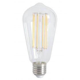 Calex, Vintage LED Lamp 240V 4W 350lm E27 ST64 Helder 2300K Dimbaar, Vintage Antiek, CA072-CB, EtronixCenter.com