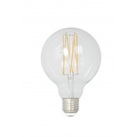 Calex - Vintage LED Lamp 240V 4W 350lm E27 GLB80 Clear 2300K Dimmable - Vintage Antique - CA074-1x www.NedRo.us