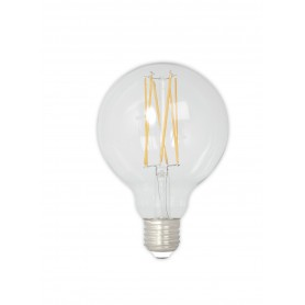 Calex - Vintage LED Lamp 240V 4W 350lm E27 GLB95 Clear 2300K Dimmable - Vintage Antique - CA075-1x www.NedRo.us