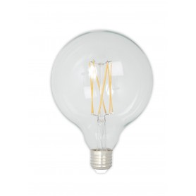 Calex - Vintage LED Lamp 240V 4W 350lm E27 GLB125 Clear 2300K Dimmable - Vintage Antique - CA077-1x www.NedRo.us