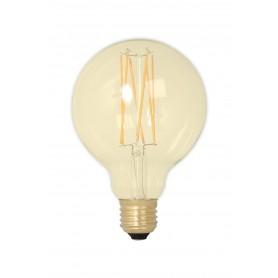 Calex - Vintage LED Lamp 240V 4W 320lm E27 GLB95 GOLD 2100K Dimbaar - Vintage Antiek - CA078-1x www.NedRo.nl
