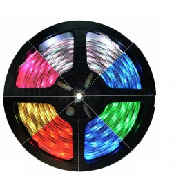 RGB IP65 LED Strip SMD5050 60led p / m