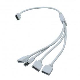1 naar 4 RGB Splitter Connector kabel Female naar Female AL357