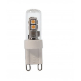 Calex, LED G9 240V 2,2W 3000K 210LM glas buis Warmwit CA028, G9 LED, CA028, EtronixCenter.com