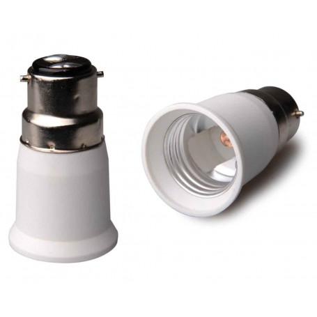 NedRo, B22 to E27 Base Converter - 1 pieces, Light Fittings, LCA119-CB
