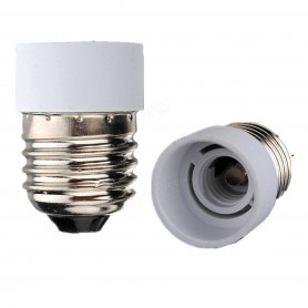 NedRo - E27 naar E14 Fitting Omvormer - Lamp Fittings - AL075-2x www.NedRo.nl