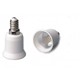 NedRo - E14 naar E27 Fitting Omvormer - Lamp Fittings - LCA01-CB www.NedRo.nl