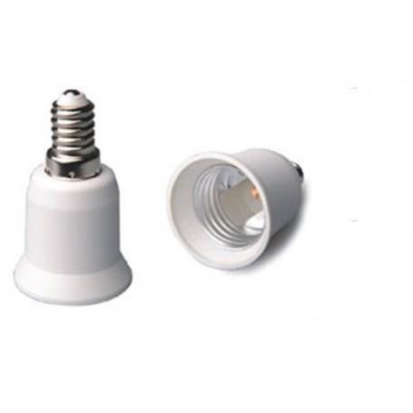 NedRo - E14 naar E27 Fitting Omvormer - Lamp Fittings - LCA01-CB www.NedRo.nl