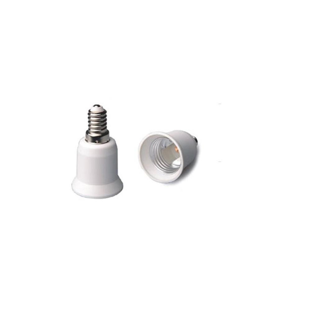 NedRo - E14 naar E27 Fitting Omvormer 06088 - Lamp Fittings - 06088-2x www.NedRo.nl