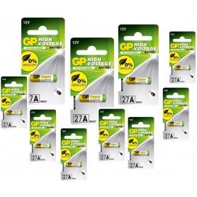 GP - Battery GP 27A G27A MN27 GP27A A27 L828 GP27A - Other formats - BL184-10x www.NedRo.us