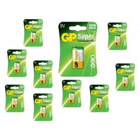 GP - GP Super Alkaline 6LR61/9V batterij - Andere formaten - BS265-CB www.NedRo.nl