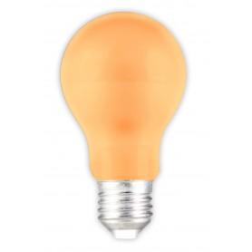 Calex - E27 1W Oranje LED A60 Normaallamp 240V 12lm - E27 LED - CA033-1x www.NedRo.nl