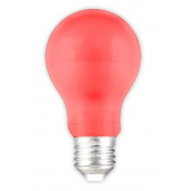 Calex, E27 1W Red LED GLS-lamp A60 240V 12lm CA034, E27 LED, CA034-CB, EtronixCenter.com