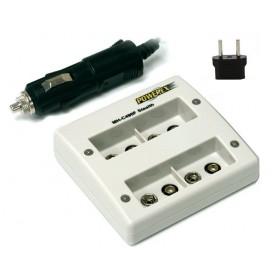 Quatro Maha Powerex MH-C490F for 9V Batteries (EU Plug)