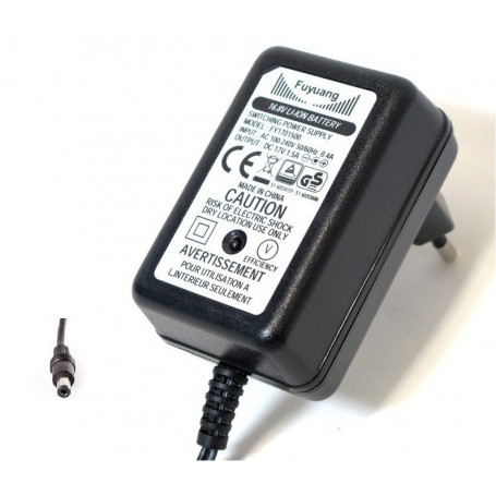 Enerpower - Enerpower 16.8V 4S DC-stekker fietsacculader - 1.5A - Batterijlader accessories - NK234-C www.NedRo.nl