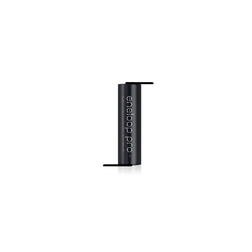Panasonic - Eneloop PRO AA HR6 Oplaadbare met Z-Soldeerlippen - AA formaat - NK124 www.NedRo.nl