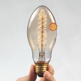 NedRo, Edison Line Vintage 40W E27 Decoration Light Bulb AL026, Vintage Antique, AL026