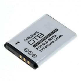 Battery for Samsung SLB-0837B Li-Ion 650mAh