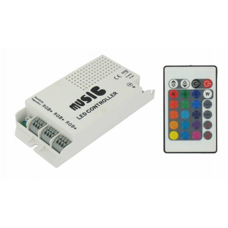 NedRo, 60W muziekcontroller voor RGB LED Strips, LED Accessoires, LED06043, EtronixCenter.com