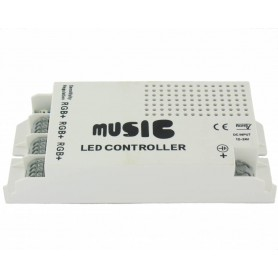 NedRo, 60W Music Controller voor RGB (12V / 24V), LED Accessories, LED06043, EtronixCenter.com