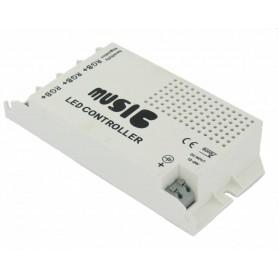 - 60W muziekcontroller voor RGB LED Strips - LED Accessoires - LED06043 www.NedRo.nl
