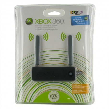 NedRo, Wireless N Network Adapter for Microsoft Xbox 360, Xbox 360 Accessoires, YGX573