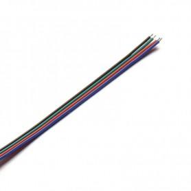 NedRo - Draad voor RGB LED strips - LED connectors - LSCC46-5M www.NedRo.nl